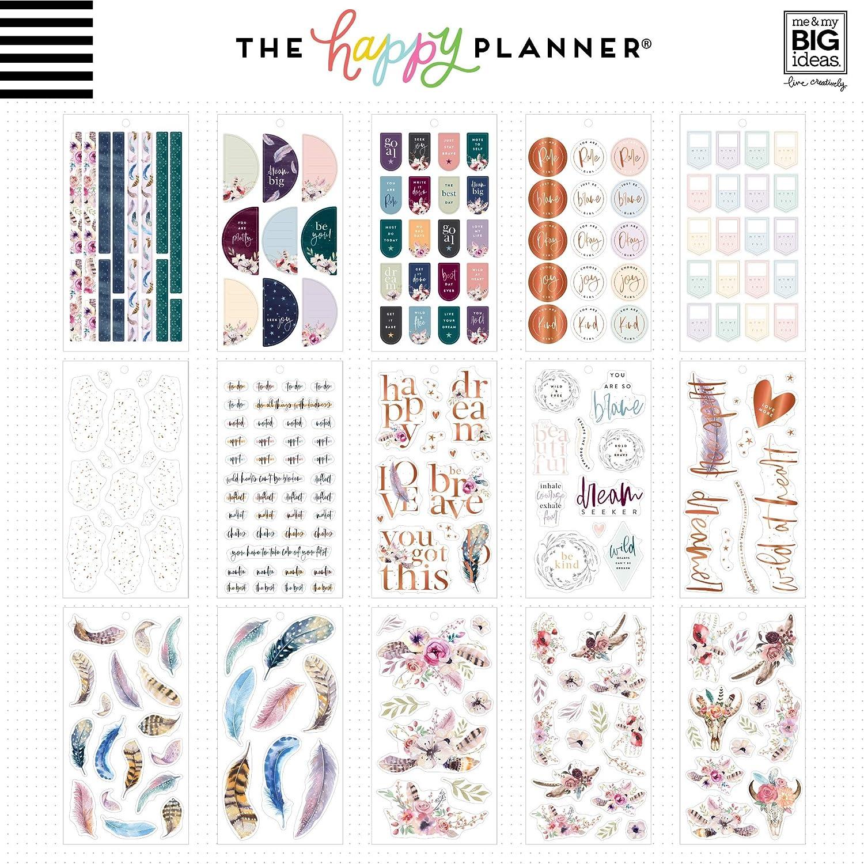 Dream Seeker 486//Pkg ME /& MY BIG IDEAS Happy Planner STCKRS Seek