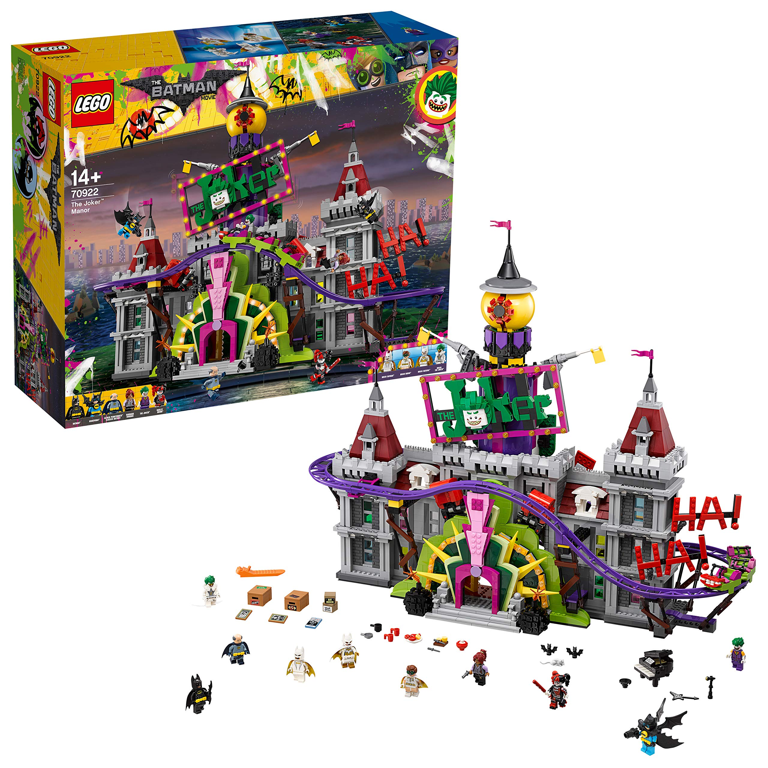 Lego 70922 Batman Movie Joker Manor Buy Online In Uruguay At Desertcart