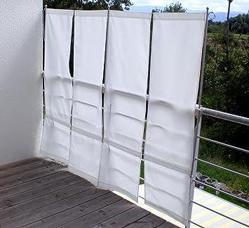 paravue 3 4 balkonsichtschutz werkzeugfrei 1 50 m hoch