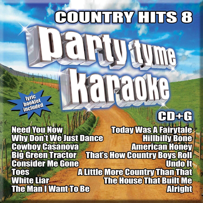 Party Tyme Karaoke Party Tyme Karaoke Country Hits 8 Song