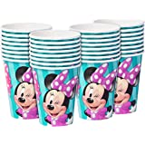 American Greetings Minnie Mouse Paper Cups (32 Count), 9 oz