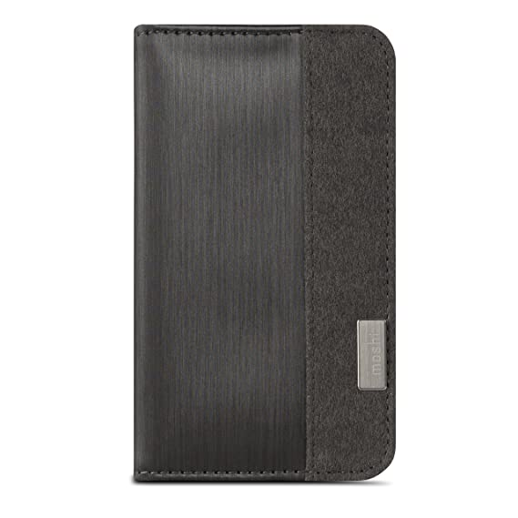 reputable site a26b3 81f89 Moshi Overture iPhone 6/6s Plus Case (Wallet Case) - Black