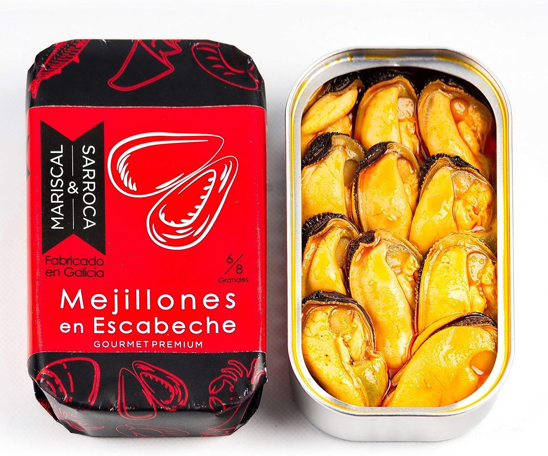 Mejillones en escabeche 8/12 Gourmet premium - Mariscal & Sarroca ...