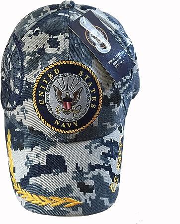 2-Tone Military Baseball Cap UNITED STATES COAST GUARD