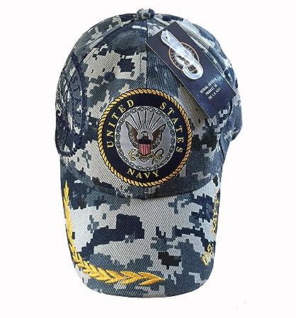 484be3ebfa9 ... 50% off us navy digital blue camo npc logo w shadow military baseball  style hat