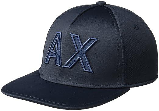 973845041807f Armani Exchange Men s Block Letter Logo Cap