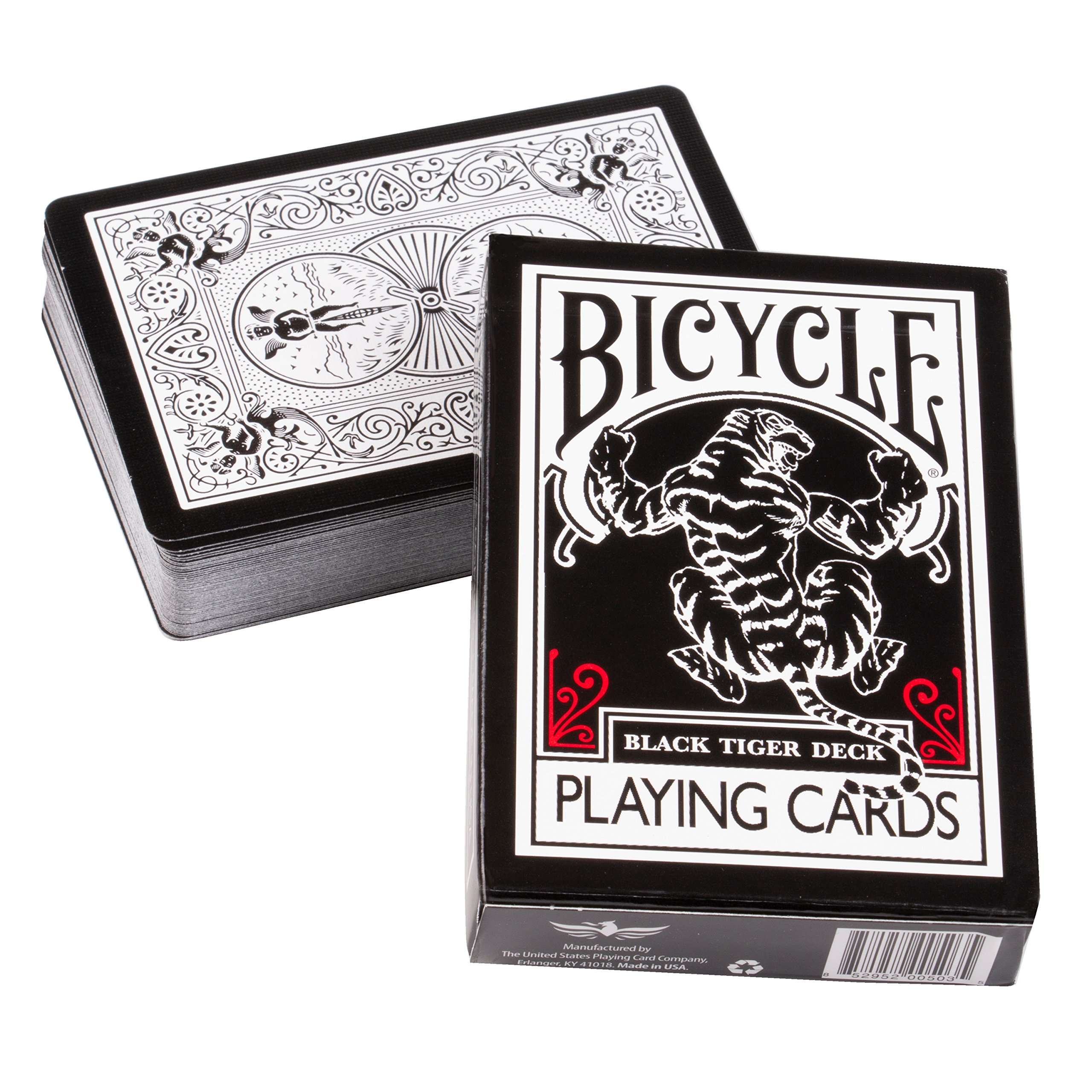 Ellusionist Bicycle Black Tiger Playing Card Deck