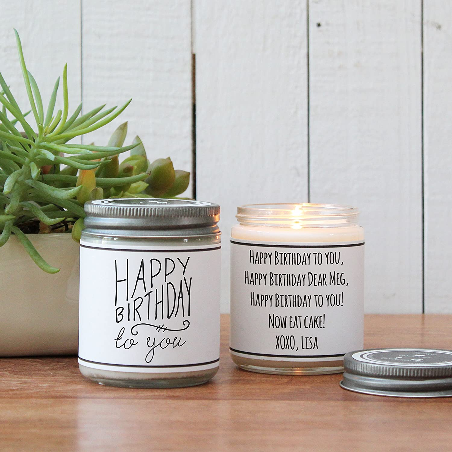 Happy Birthday To You Soy Candle Gift