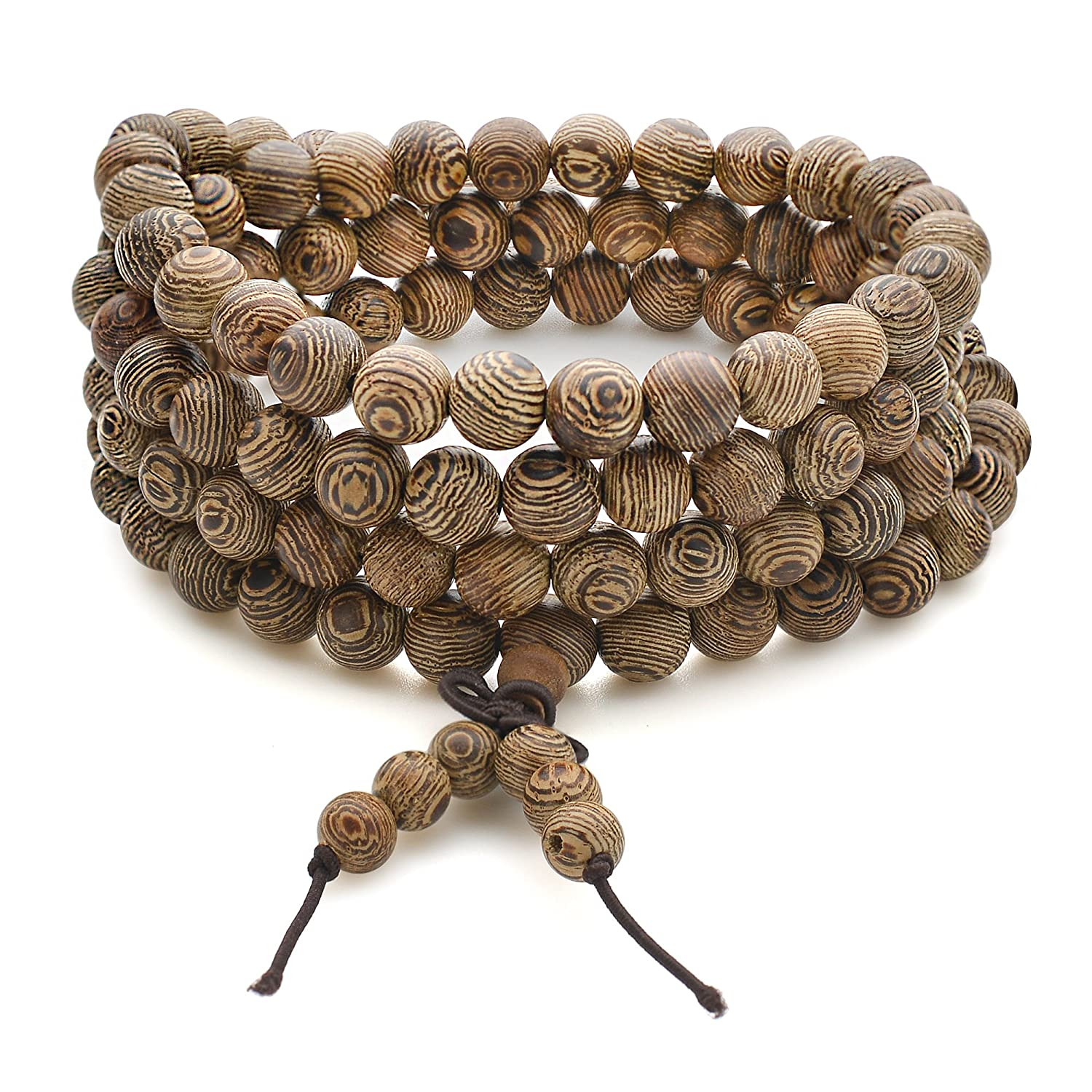 new men wood bracelet meditation bracelets wooden yoga product prayer bead buddhist sandalwood jewelry hot beads buddha