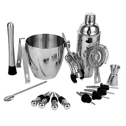 MOJITO KIT Four Piece Cocktail Maker Gift Accessories Barware Muddler Jigger Set