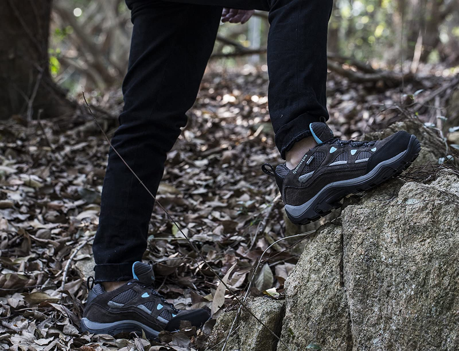 QOMOLANGMA Women's Waterproof Wide Hiking Shoes W91501 - 6