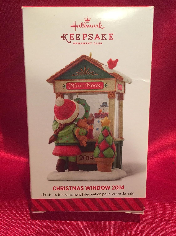 2014 Hallmark Christmas Window Craft Shop 12th in Series Club Member Exclusive
