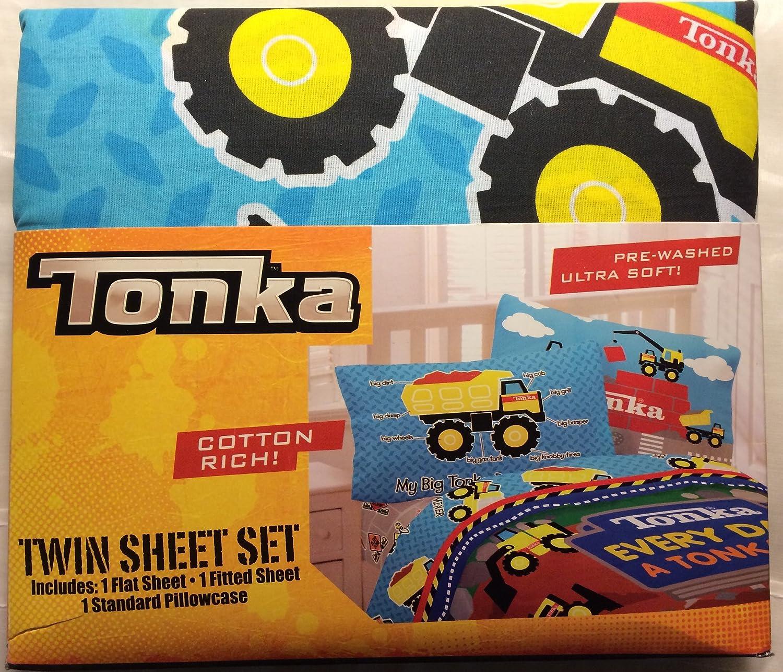 Tonka Twin Sheet Set