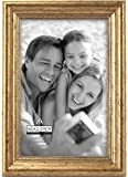 Malden International Designs Classic Wood Picture Frame,4x6, Gold