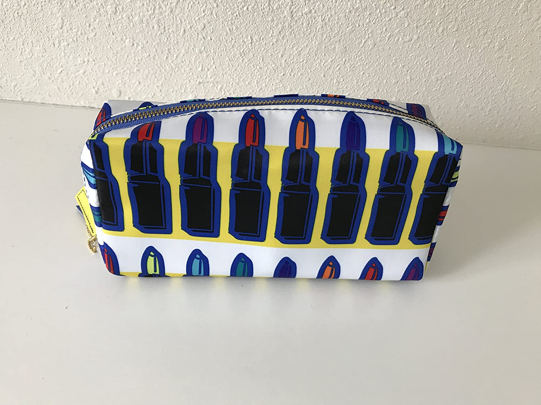 Sonia Kashuk Cosmetic Bag Makeup Organizer - Lipstick Print