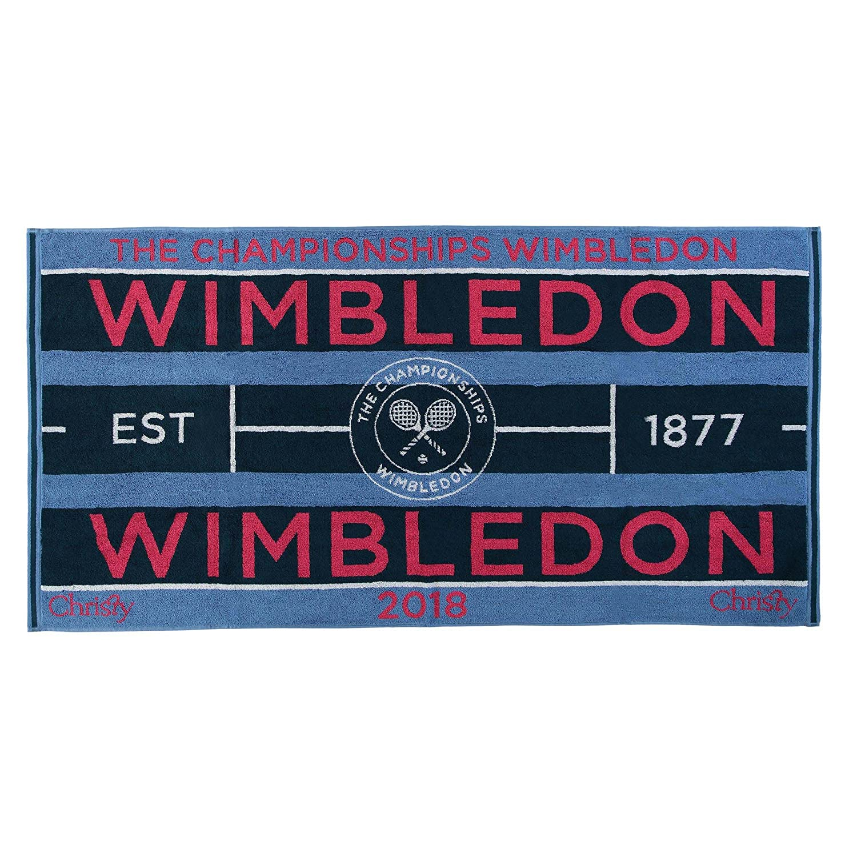 Wimbledon Lady Tennis Towel 2018 von Christy 132 Years