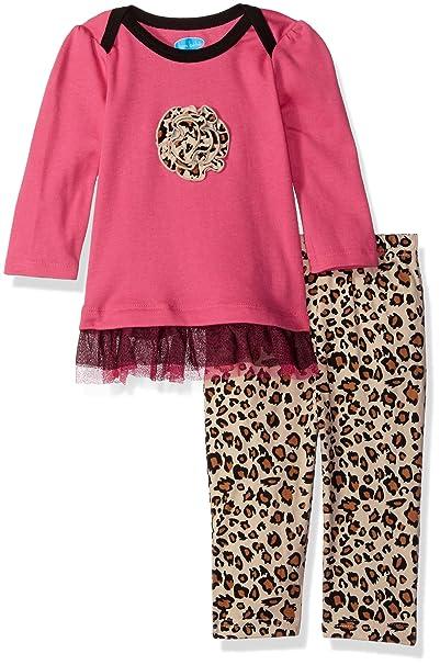 Amazon.com: Bon Bebe Baby Girls 2 piezas Vestido Set con el ...