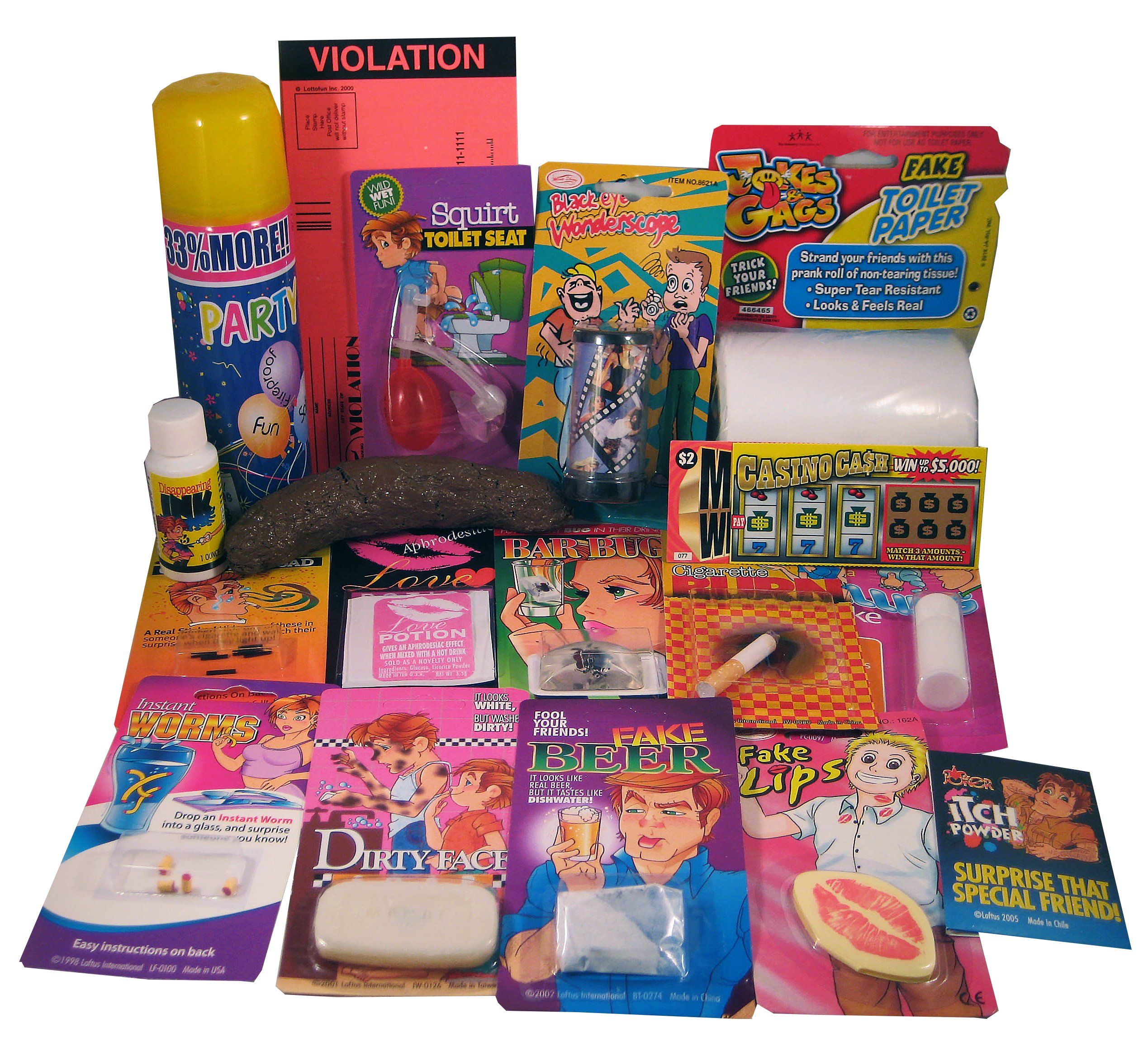 The One Stop Fun Shop The Ultimate House Party Prank Kit by The One Stop Fun Shop