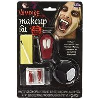 Vampire Make Up Kit con zanne adulti di Halloween / Carnival vestito operato Accessori