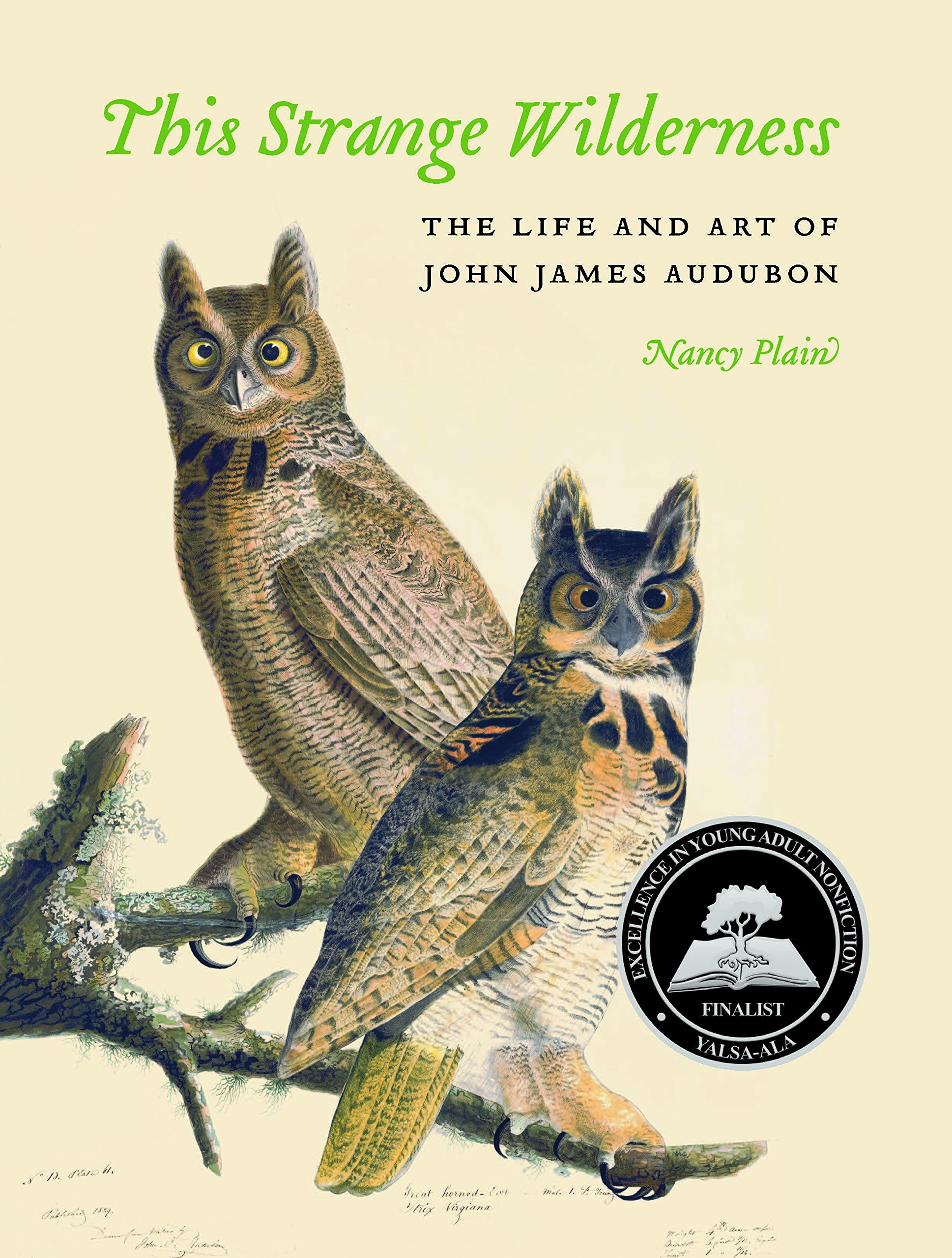 This Strange Wilderness: The Life and Art of John James Audubon: Plain, Nancy: 9780803248847: Amazon.com: Books