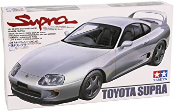 Tamiya Sports Car Model No.123 Toyota Supra 24123 Escala 01:24 [Importado de Japón]