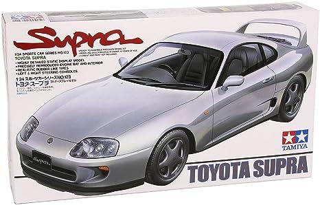 Tamiya 1/24 Sports Car | Model Building Kits | No.123 TOYOTA SUPRA