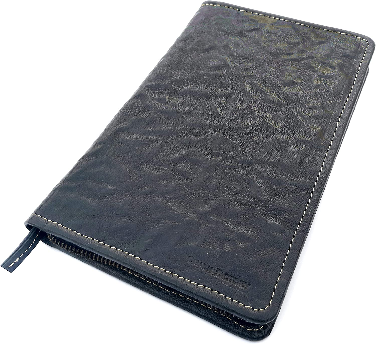 Marble Chalk Factory Genuine Leather Passport Case Limited Edition