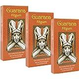 BADERs Guarana Fitgum. Kaugummi für mehr Energie mit Guarana Koffein. Unterstützt Konzentration und Leistung. Zuckerfrei, mit Xylit. Vorteilspackung 3 x 24 Kaugummis im Blister. Pharmazentralnummer: 08529013