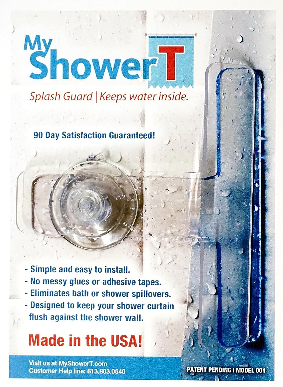 Amazon My Shower T Tub Splash Guard Home Kitchen