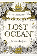Lost Ocean: 36 Postcards to Color and Send Card Book
