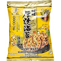 WANT WANT Seaweed Rice Crackers, 102g