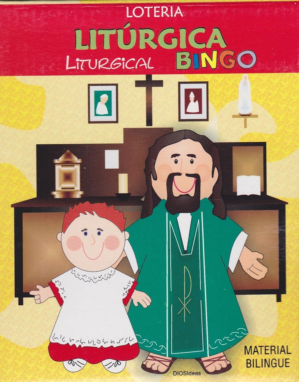 非売品 Loteria Loteria LITÚRGICA/ Liturgical/ Bingo Liturgical B00TR3ZWA4, アットホームインテリア:f73327a0 --- vietnox.com