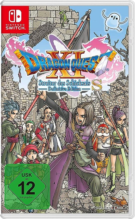 Nintendo Switch Dragon Quest XIS Steiter d. Schicksals Def. Edit.: Amazon.es: Electrónica
