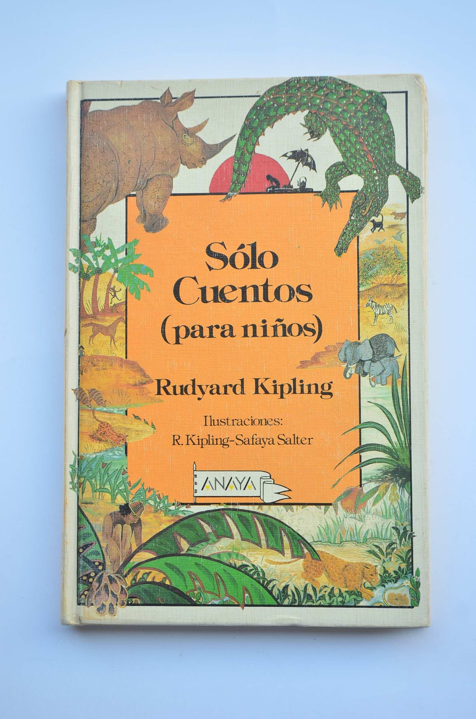amenaza pasión Imbécil  Solo Cuentos (para Niños): Amazon.es: Rudyard Kipling: Libros