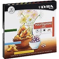 Giz Pastel Seco, Lyra, 5651120, Polycrayons Soft, 12 Cores