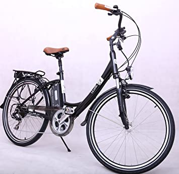 UUALK SUN - Bicicleta Eléctrica Paseo SHIMANO, 26