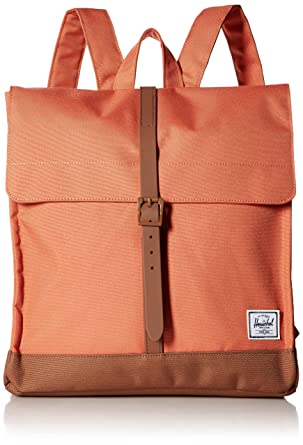 f04aa69b6b5 Herschel City Mid-Volume Backpack Apricot Brandy Saddle Brown One Size