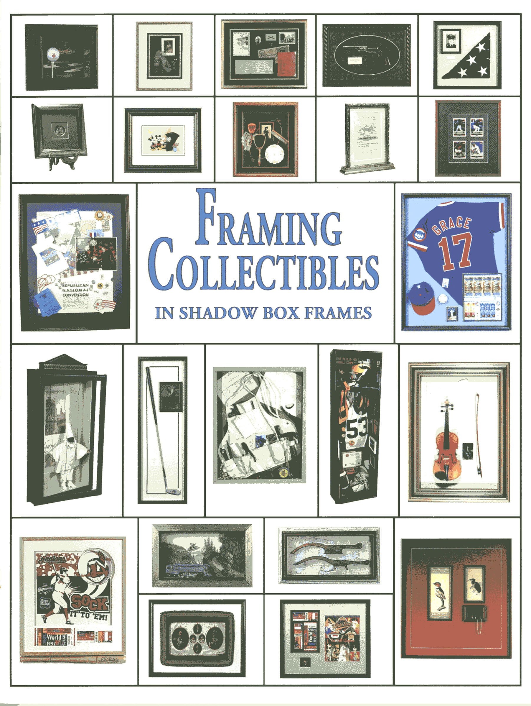 Framing Collectibles in Shadow Box Frames