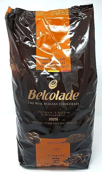 Belcolade Lait Caramel pepitas de Chocolate con Leche Caramelo 5kg