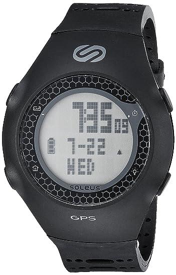 Soleus Unisex SG010-001 GPS Turbo Digital Black Watch