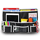 Amazon Price History for:Fancii 10 Pocket Bedside Caddy - Hanging Storage Organizer for Books, Phones, Tablets, Accessory and TV Remote - Best for Headboards, Bed Rails, Dorm Rooms, Bunk Beds, Apartments, Bathrooms & Travel