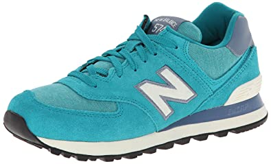 Amazon.com | New Balance Classics Women's WL574 Pennant Collection ...