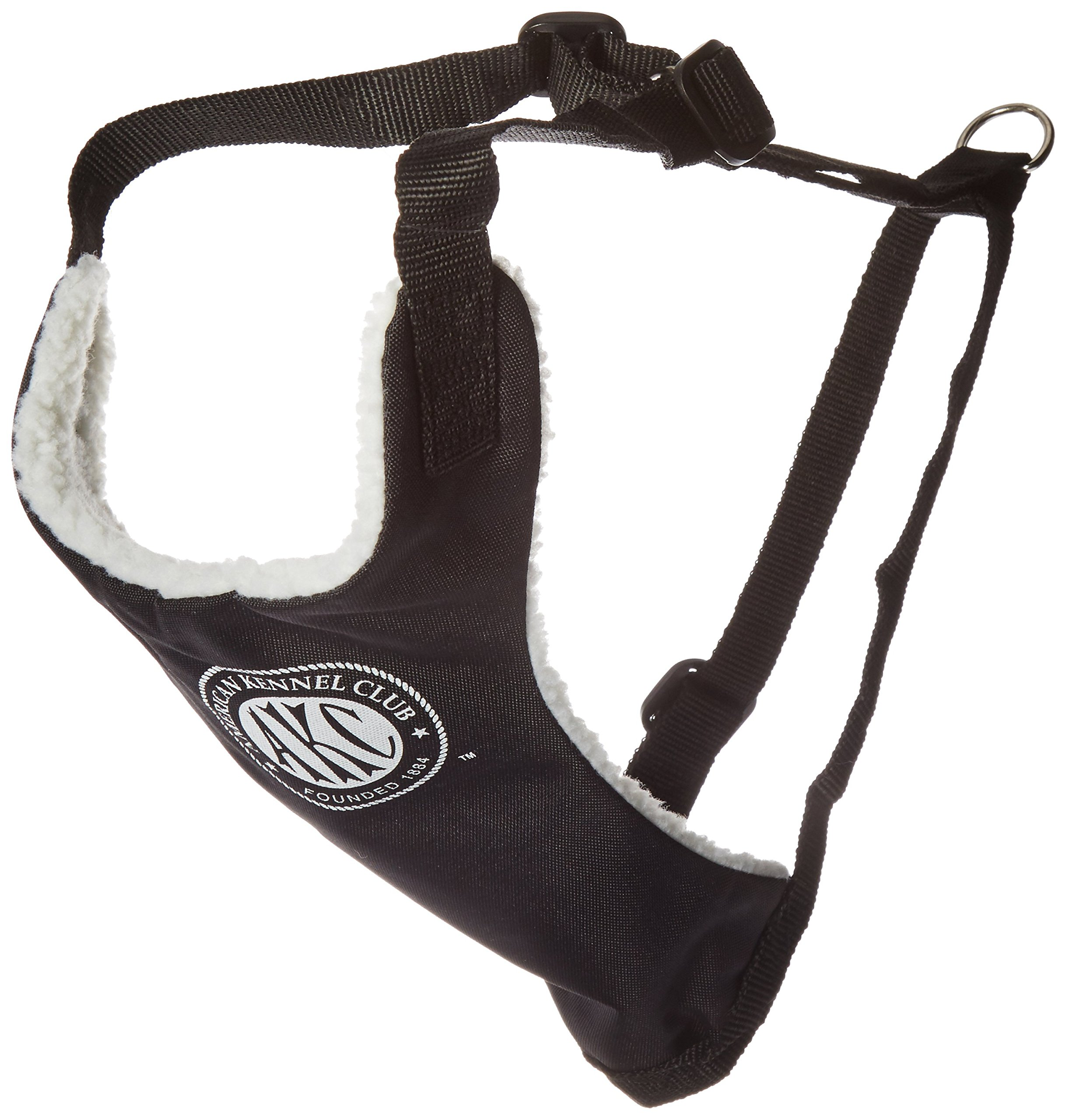 American Kennel Club 2-in-1 Seatbelt Harness, Small