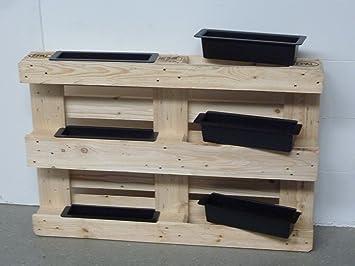 Lukaartdesign Europaletten Einsatz 6 Stuck Kunststoff Blumentopf