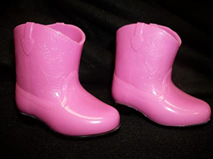 "Red Rain Boots for 18/"" Dolls including American Girl Dolls"