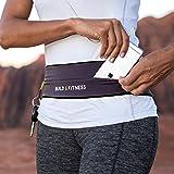 Cintura da Corsa e fitness cintura, cintura con gancio portachiavi, a Flip per iPhone 6 & 7 Plus, Unisex, ideale per palestra, esercizi, ciclismo, passeggiate, jogging, yoga, sport, Viaggi E Attività All' aperto