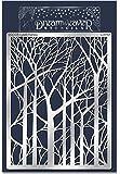 Stampendous Dreamweaver Metal Stencil, Bare Trees