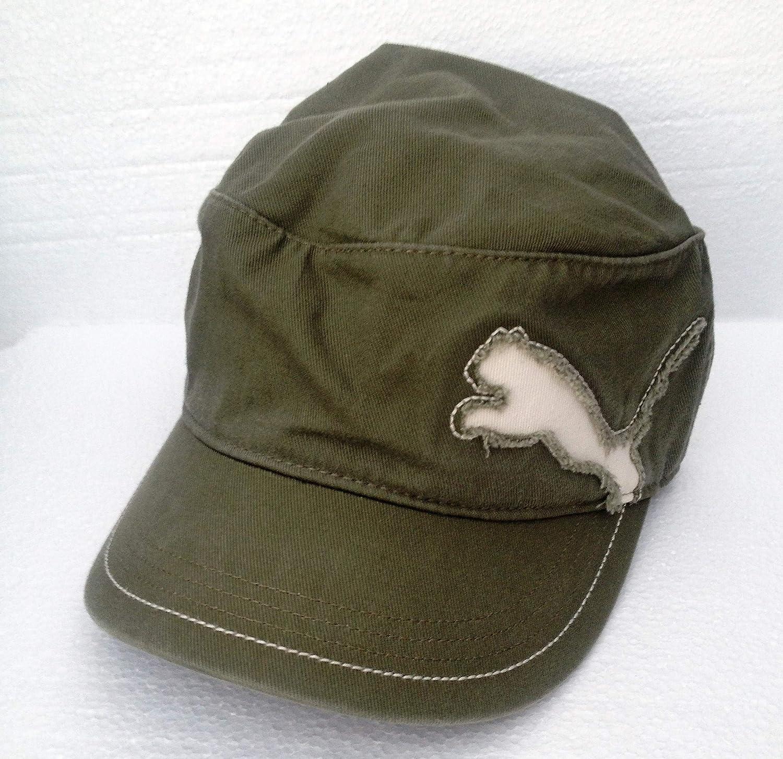 Puma - Cappello con Visiera Fairview Military, Verde (Burnt Olive), Taglia Unica 828272 09