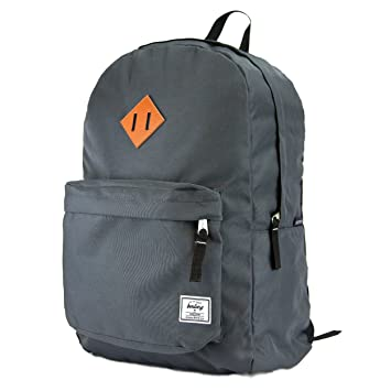 Amazon.com  Benteng Unisex Classic Superbreak Lightweight Water Resistant  School Backpack   Small and Travel Backpack for Outdoor Sports (Grey)   BenTeng inc 2b6f73a118