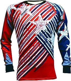 d541987e76f Amazon.com   Vizari Ventura Short Sleeve Goalkeeper Jersey   Sports ...